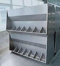 不锈钢料槽使用